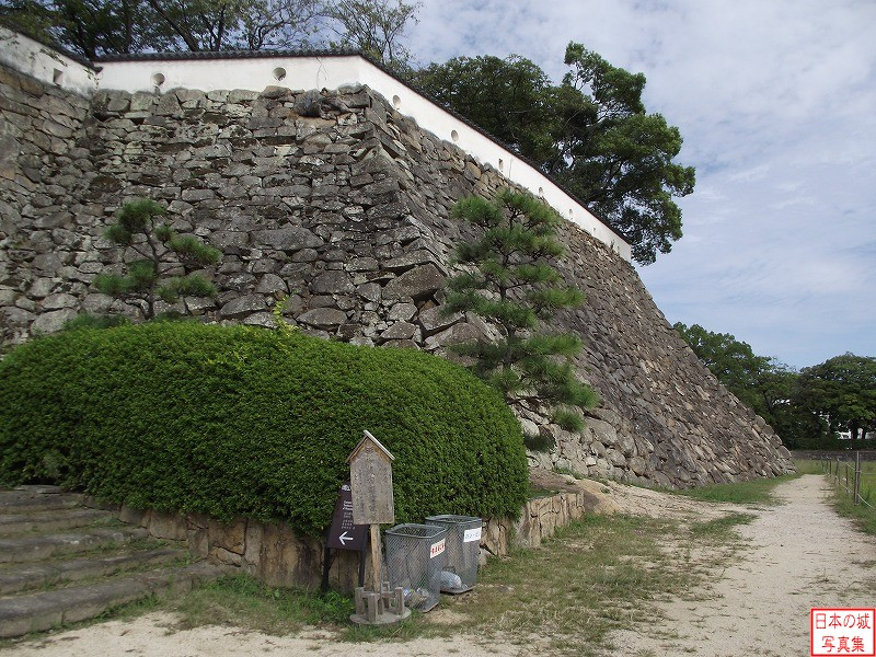 Okayama Castle Main enclosure (lower)