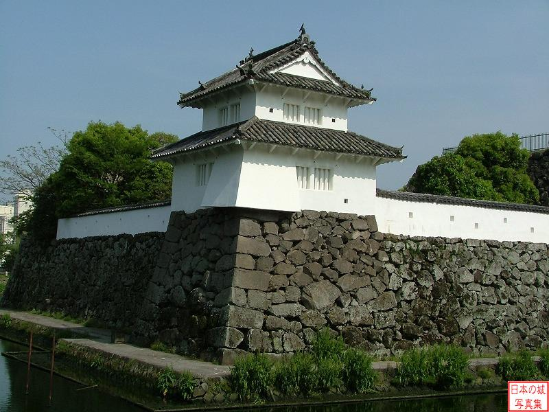 Funai Castle Hitojici turret (Main enclosure)