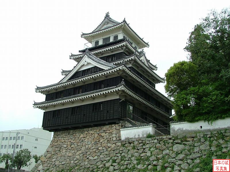 Nakatsu Castle Second enclosure