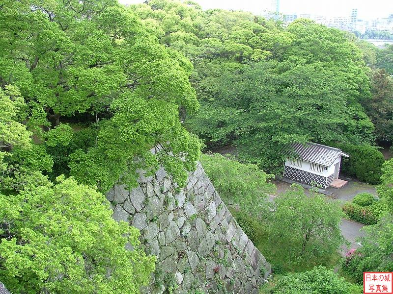 Fukuoka Castle The ruins of big main tower - A Collection ...