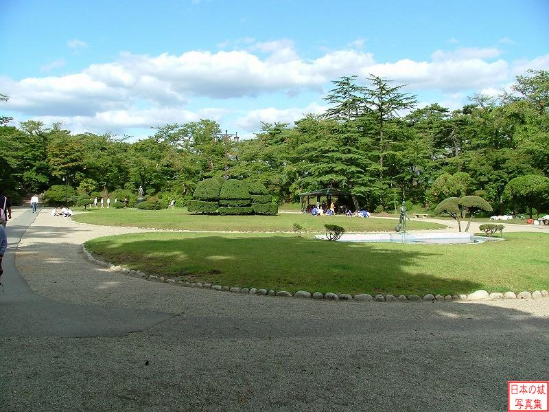 Kubota Castle Second enclosure