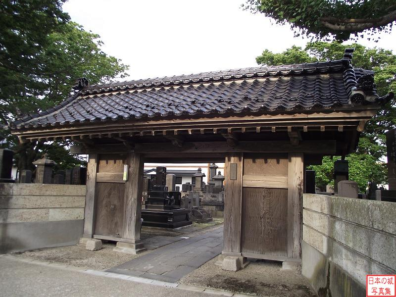 Kubota Castle Relocated gate (Main gate of Kyuuhou temple)