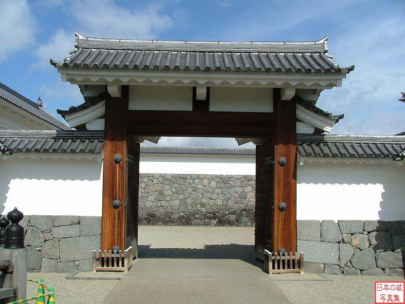 Yamagata Castle East main gate of Seond enclosure (Korai gate)