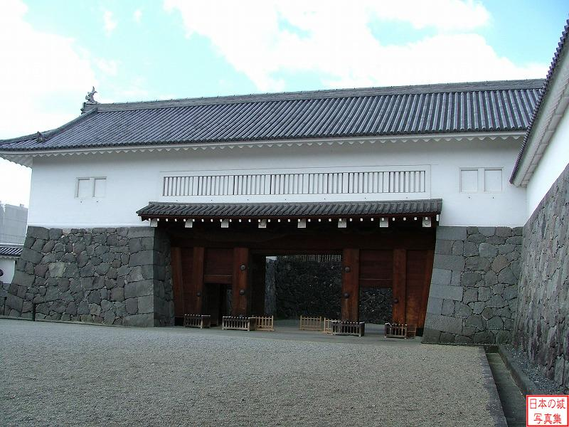 Yamagata Castle East main gate of Seond enclosure (Turret gate)
