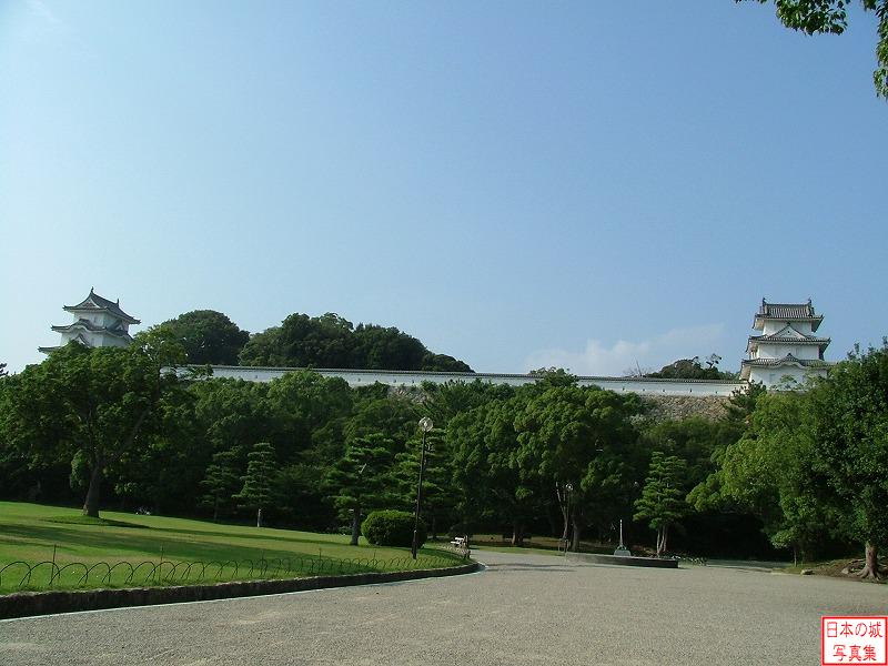 Akashi Castle Third enclosure