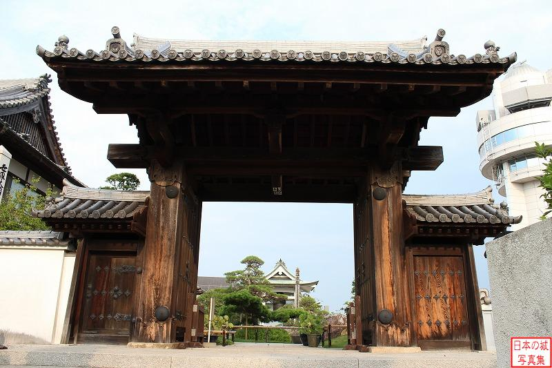 Akashi Castle Relocated gate (Main gate of Gessho temple)