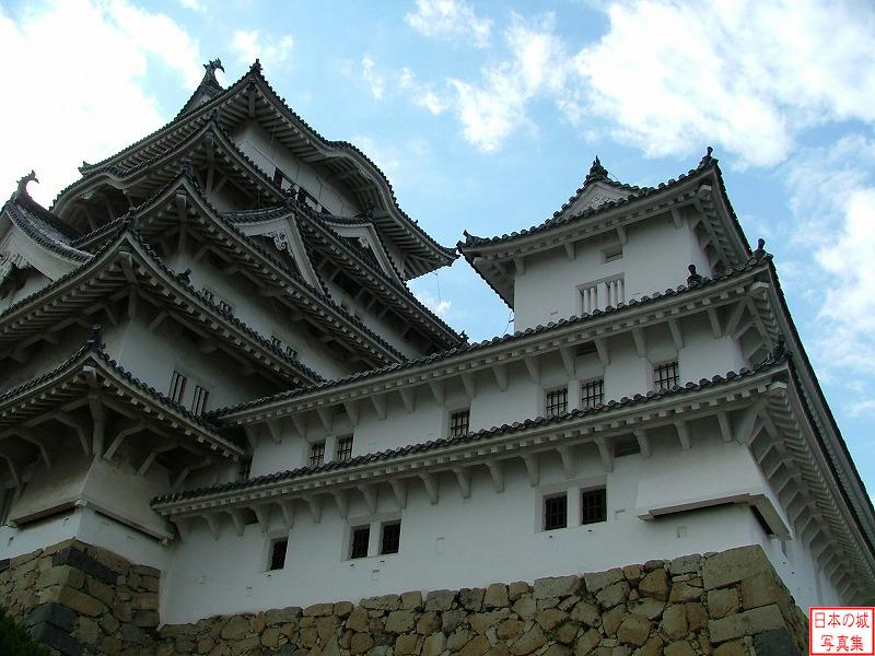 Himeji Castle East small main tower