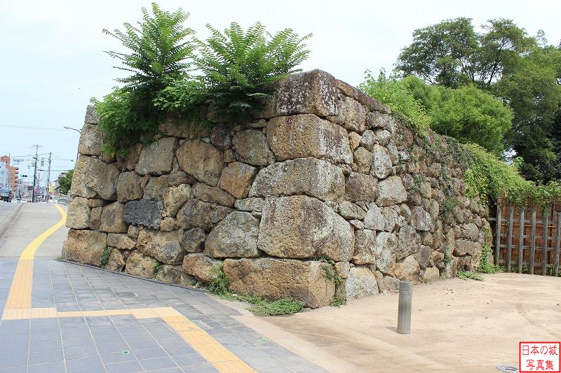 Himeji Castle The ruins of Ichinohashi-mon gate (Outside enclosure)