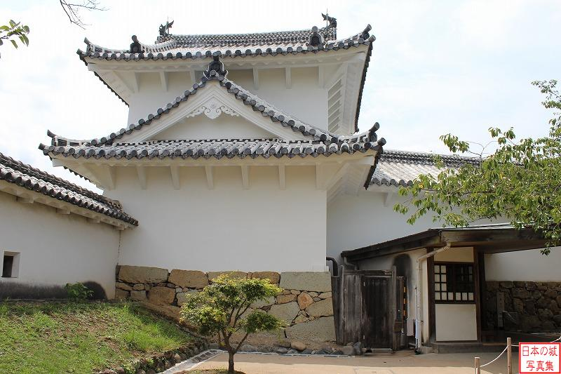 Himeji Castle Wa turret of West enclosure