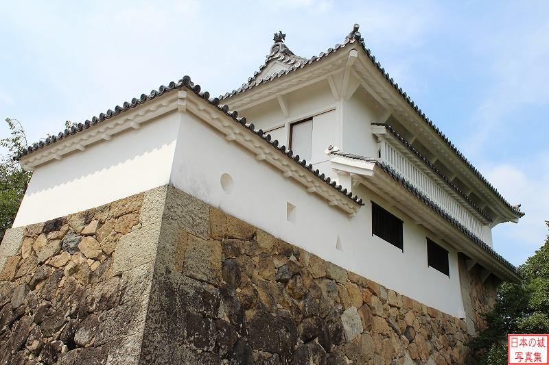 Himeji Castle Kesho turret of West enclosure