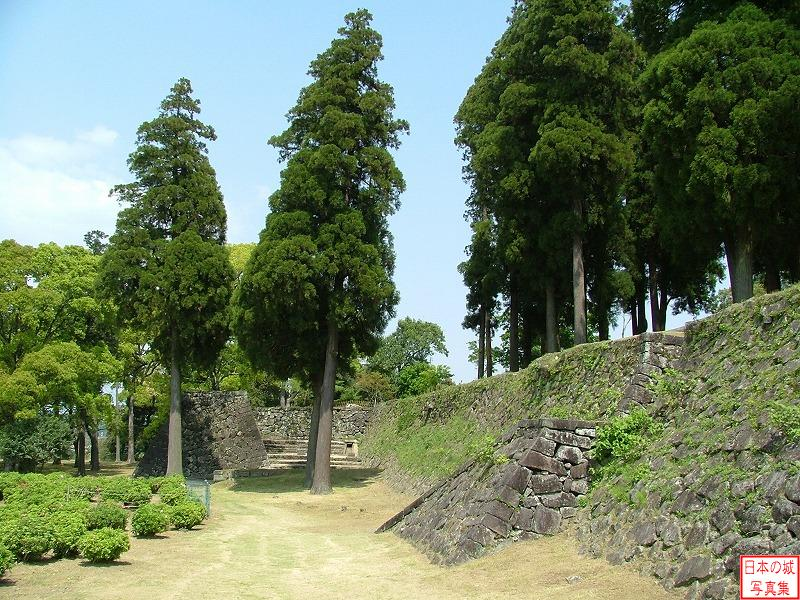 Hitoyoshi Castle Second enclosure
