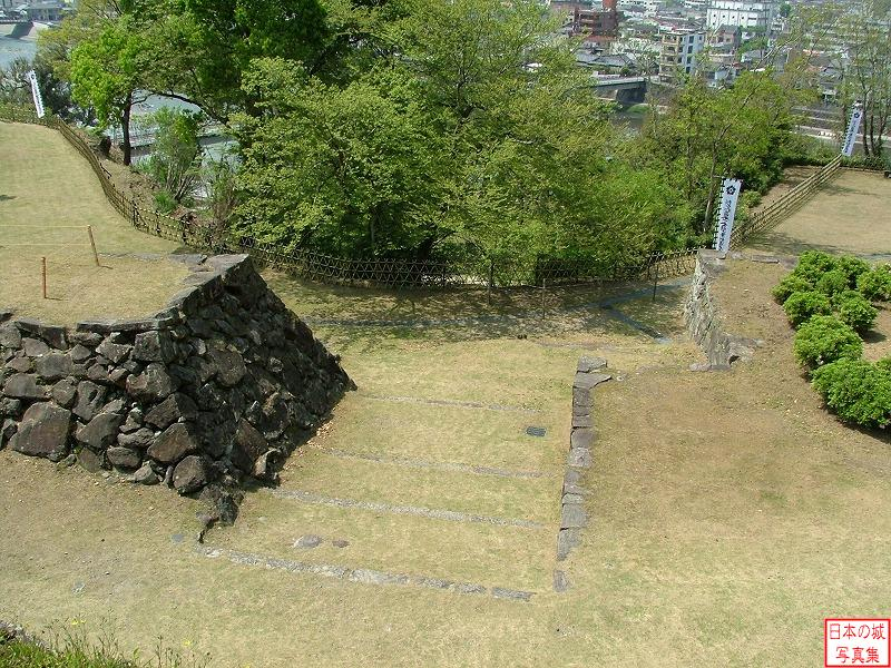Hitoyoshi Castle Third enclosure (upper)