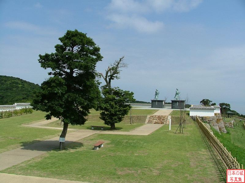 Tomioka Castle Fortress and second enclosure
