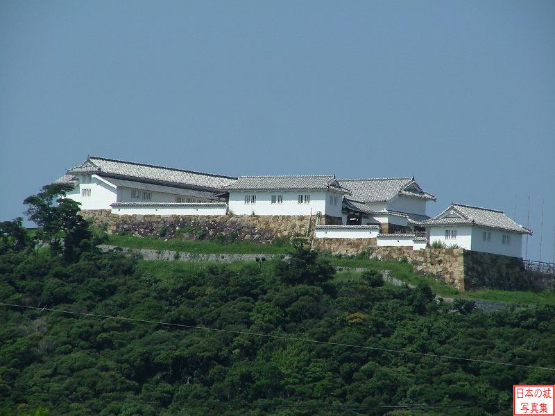Tomioka Castle The foot of a mountain