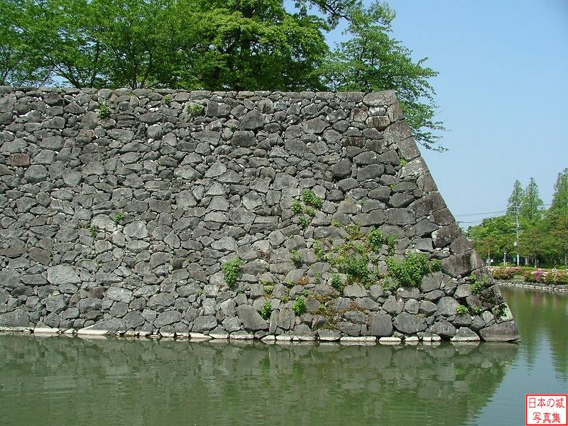 Yatsushiro Castle The ruins of Three-story turret
