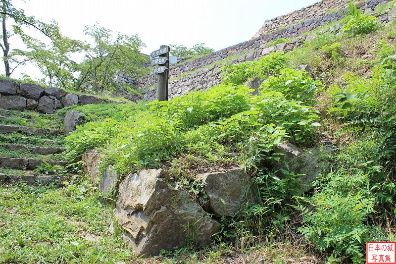 Yonago Castle The ruins of Bansho
