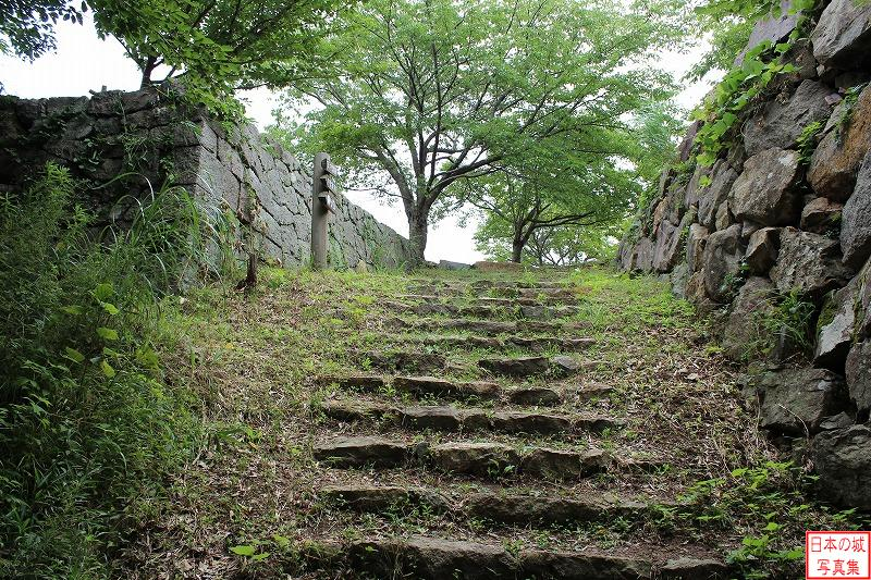 Yonago Castle Main enclosure