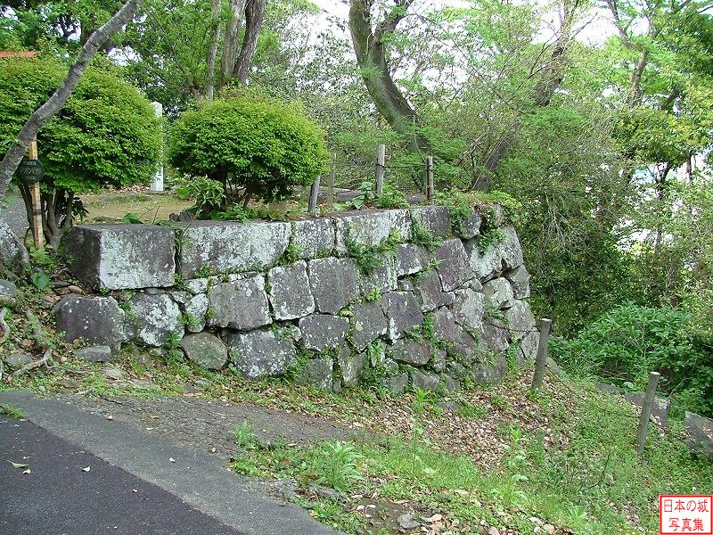 Nobeoka Castle Main enclosure