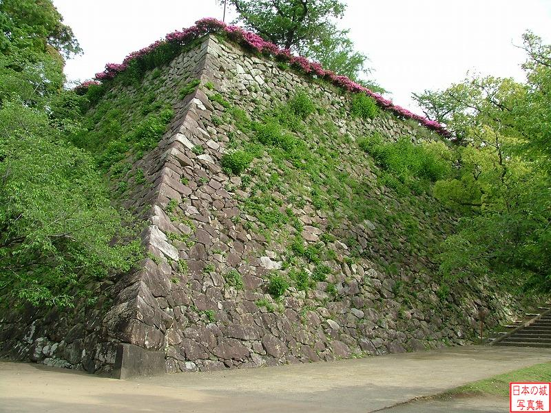 Nobeoka Castle Second enclosure