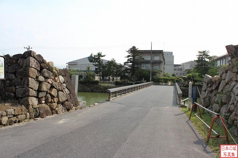 Tottori Castle The ruins of Main gate
