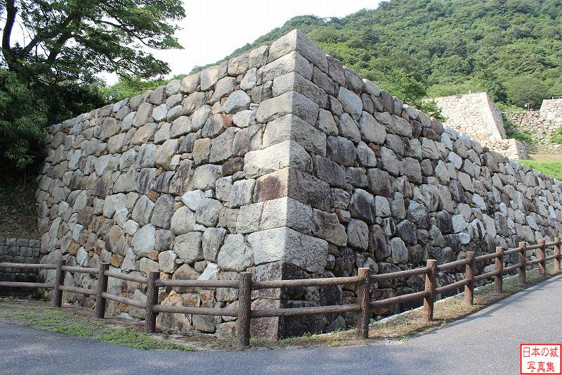 Tottori Castle The ruins of Taiko-go-mon gate