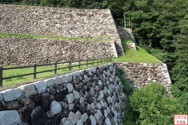 Tottori Castle Under Tenkyu enclosure