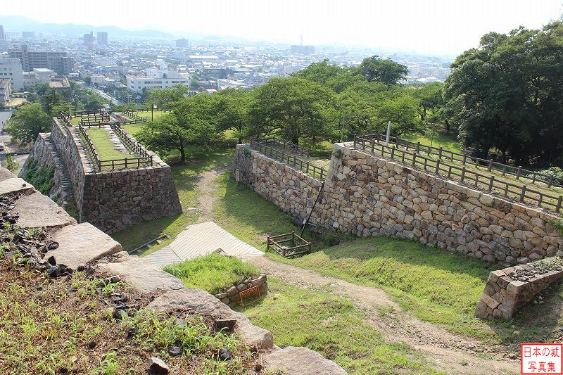 Tottori Castle Omote-gomon gate of Second enclosure