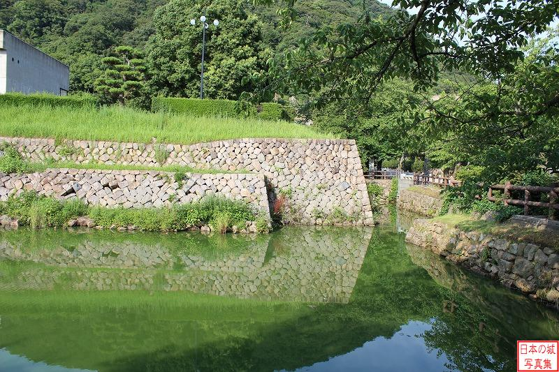 Tottori Castle The ruins of Kita-gomon gate