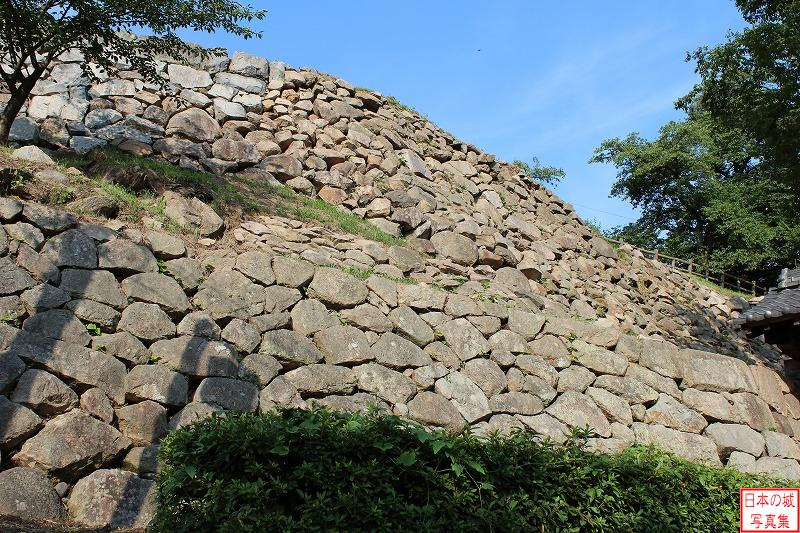 Tottori Castle Uzen enclosure