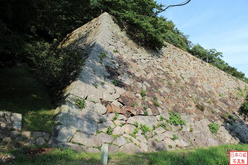 Tottori Castle North side of Second enclosure