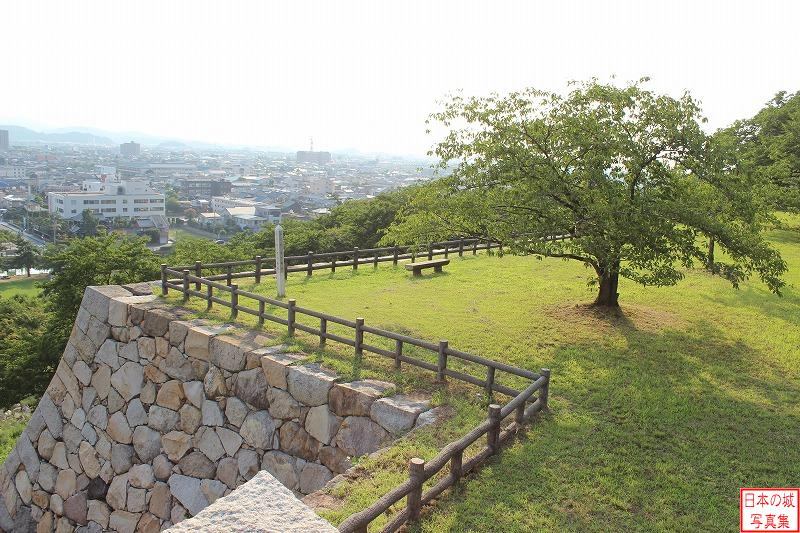 Tottori Castle South side of Second enclosure