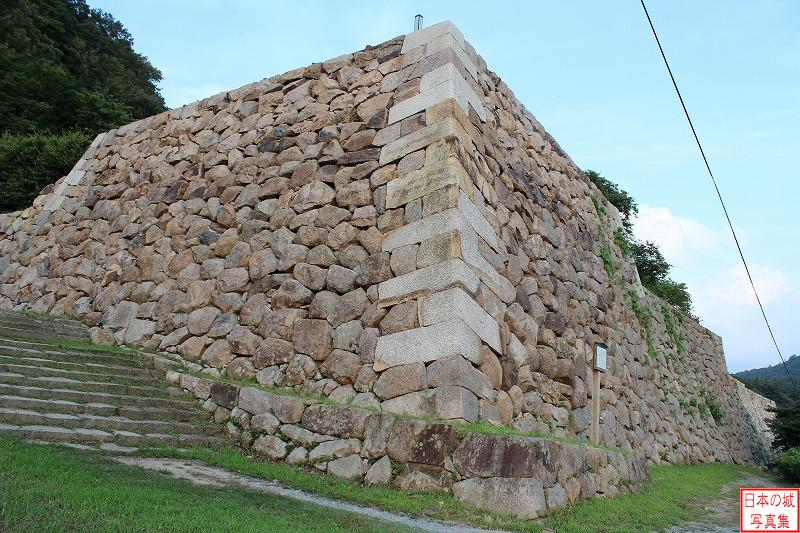 Tottori Castle The ruins of three-story turret of second enclosure