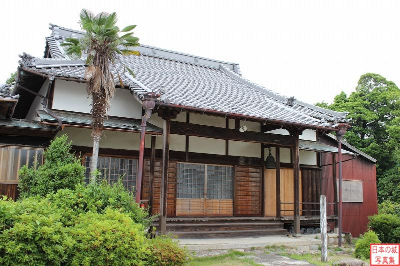 Ise Kaneyama Castle Relocated turret (Main hall of Honshu temple)