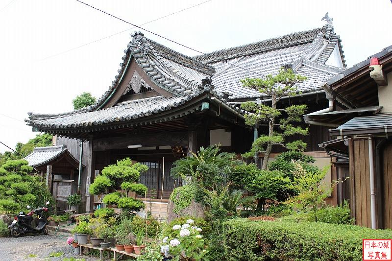 Ise Kaneyama Castle Relocated main hall (Main hall of Hensho temple)