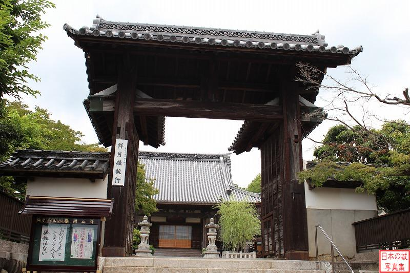 Kanbe Castle Relocated gate (Main gate of Keisei temple)