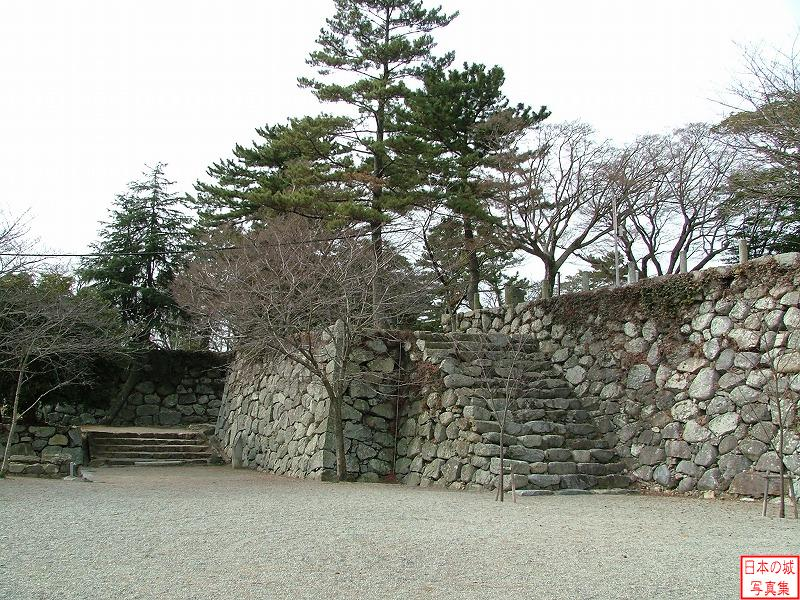 Matsusaka Castle Main enclosure
