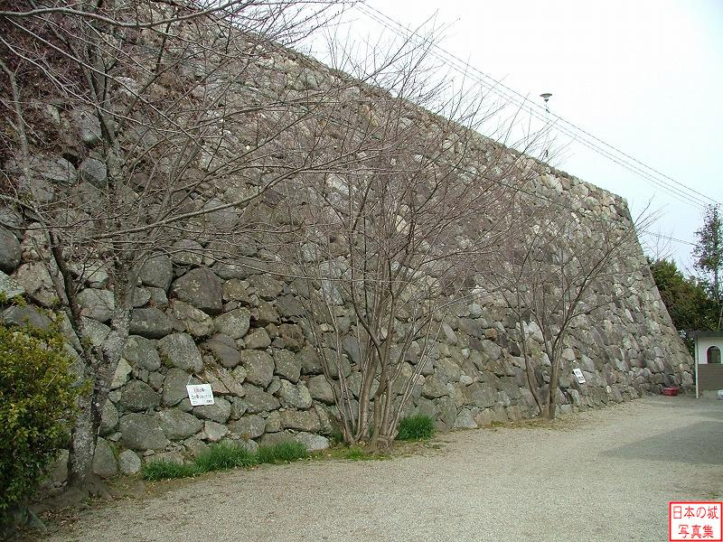 Matsusaka Castle Second enclosure