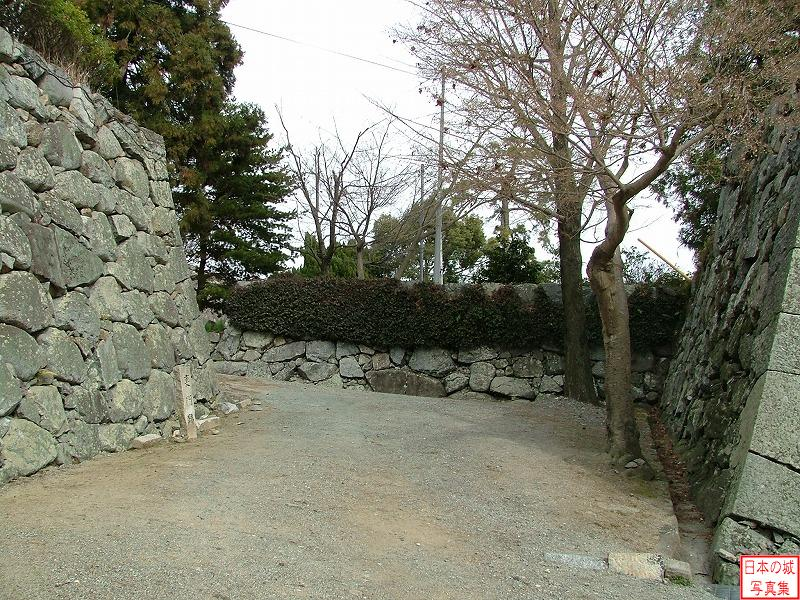 Matsusaka Castle The ruins of back gate