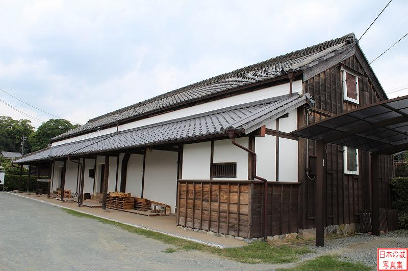 Matsusaka Castle Rice storehouse