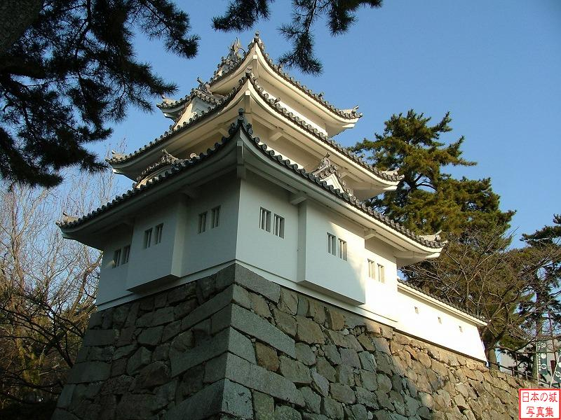 Tsu Castle Three-story turret