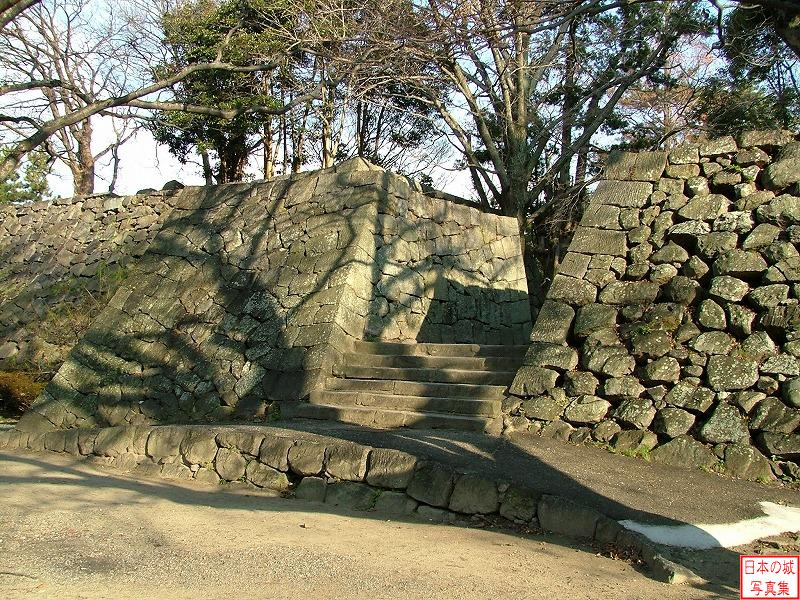 Tsu Castle Main enclosure