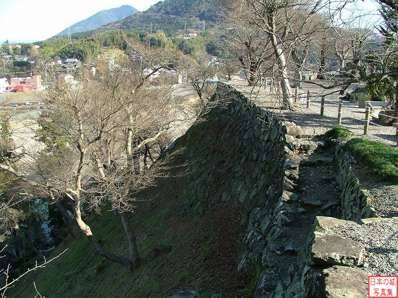Ozu Castle Main enclosure (upper)
