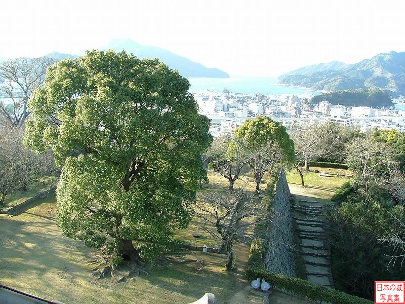 Uwajima Castle Main enclosure