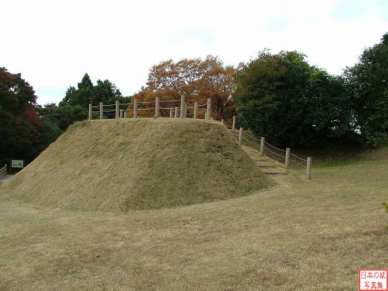 Yamanaka Castle Second enclosure