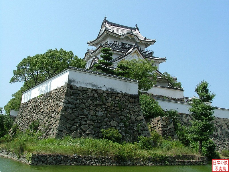 Kishiwada Castle From outside of the castle again
