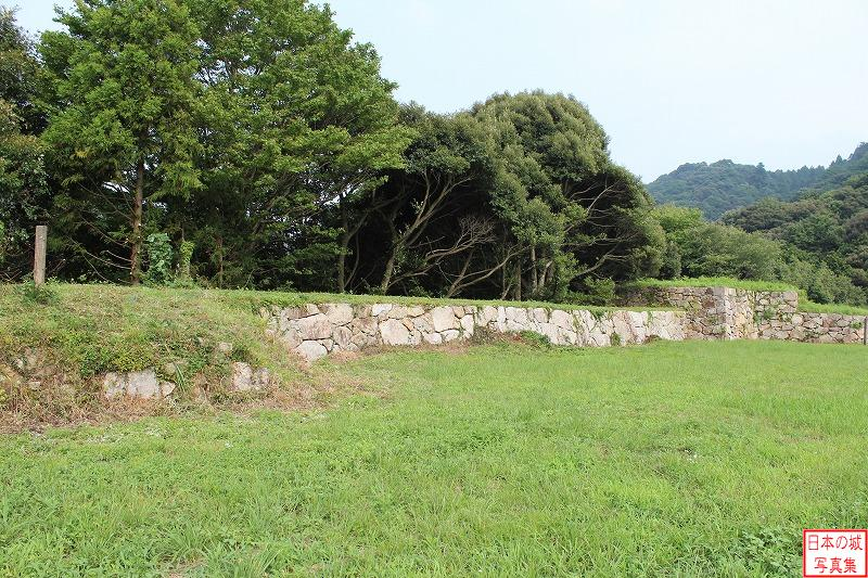 Gassan Toda Castle Sanchu palace (The ruins of Tamo turret)