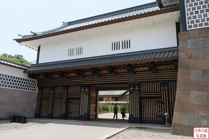 Kanazawa Castle Second gate of Hashizume gate