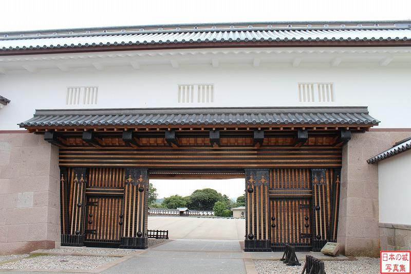 Kanazawa Castle Second gate of Kahoku gate