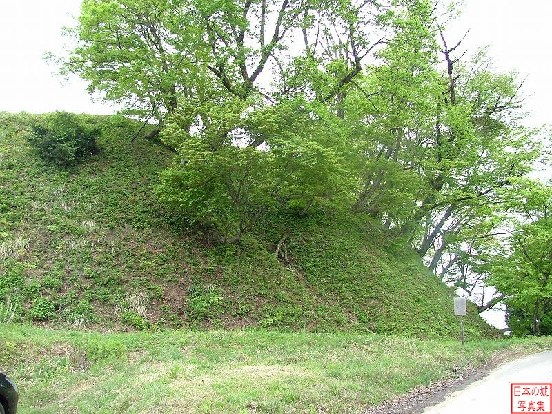 Torigoe Castle Ushiro third enclosure