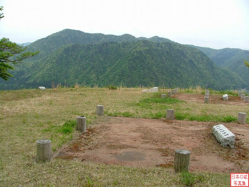 Torigoe Castle Ushiro second enclosure
